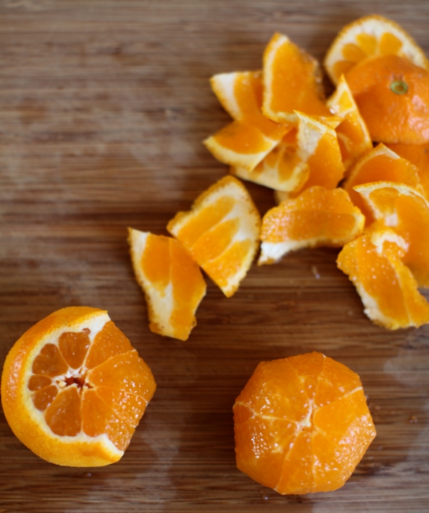 Clementines for salad